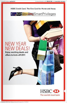 HSBC Smart Privileges Hotel Promotion 2011