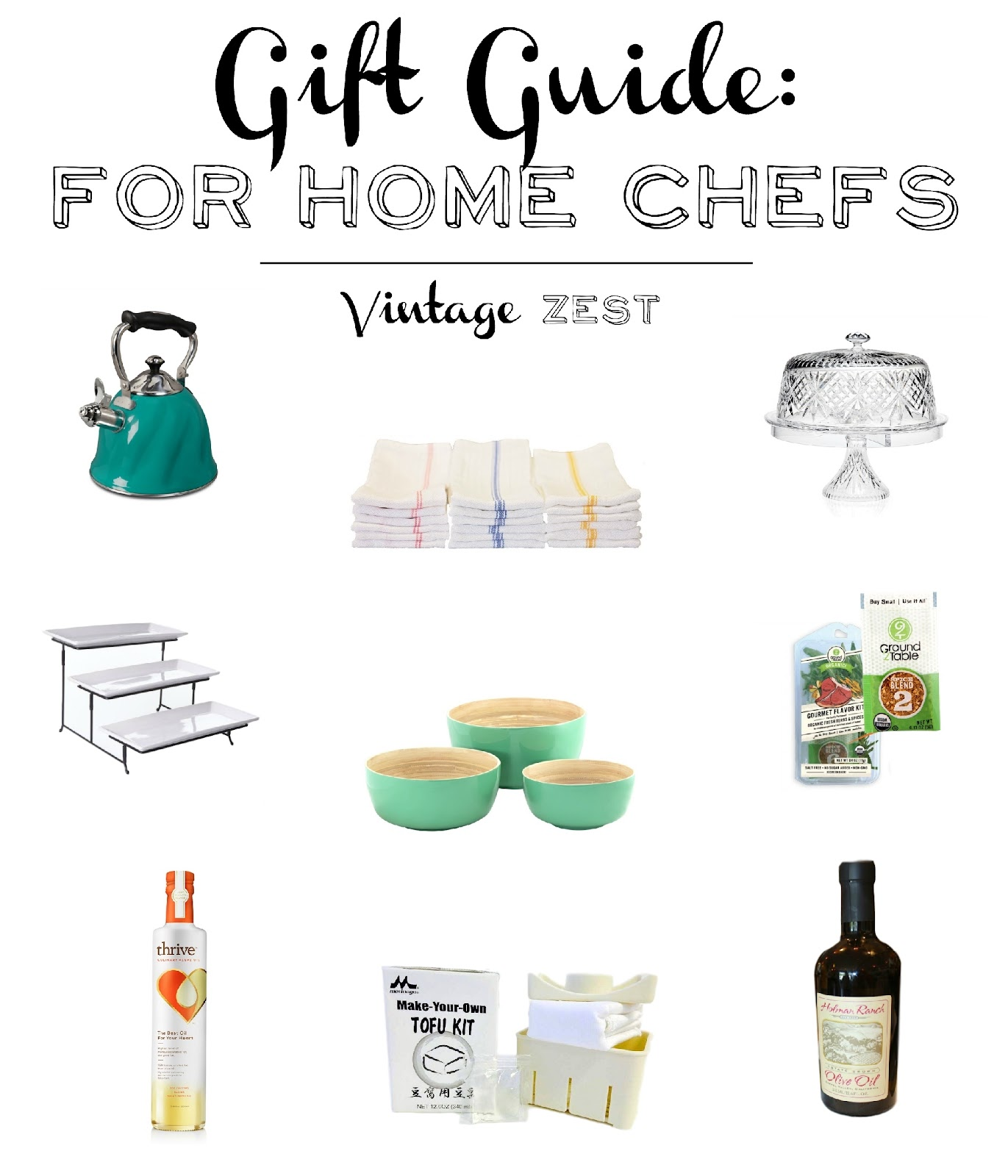 Gift Guide for Home Chefs on Diane's Vintage Zest!  #shopsmall #giftguide