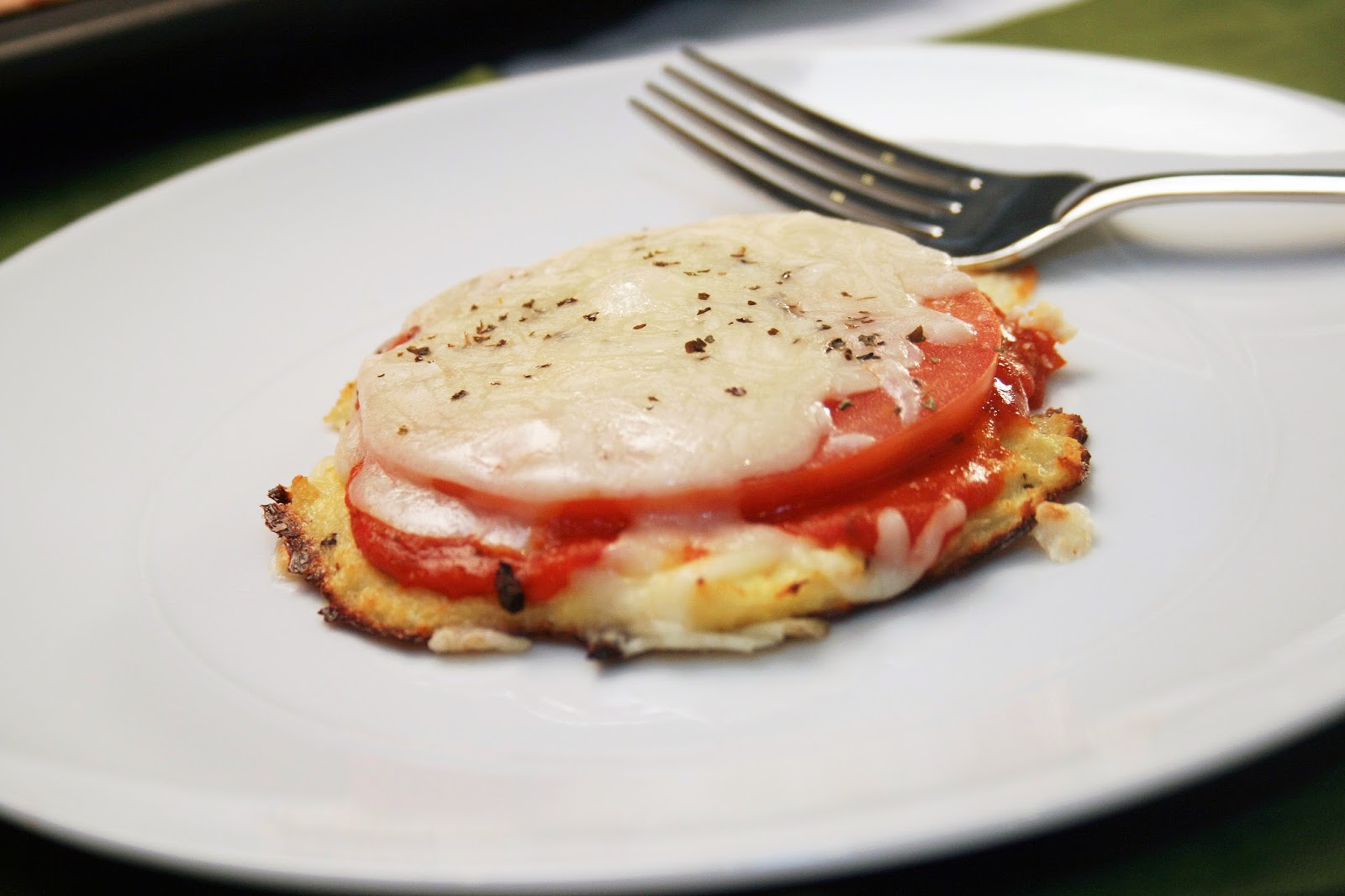... from Girl Versus Dough 's Mini Cauliflower Pizza Crusts on Tablespoon