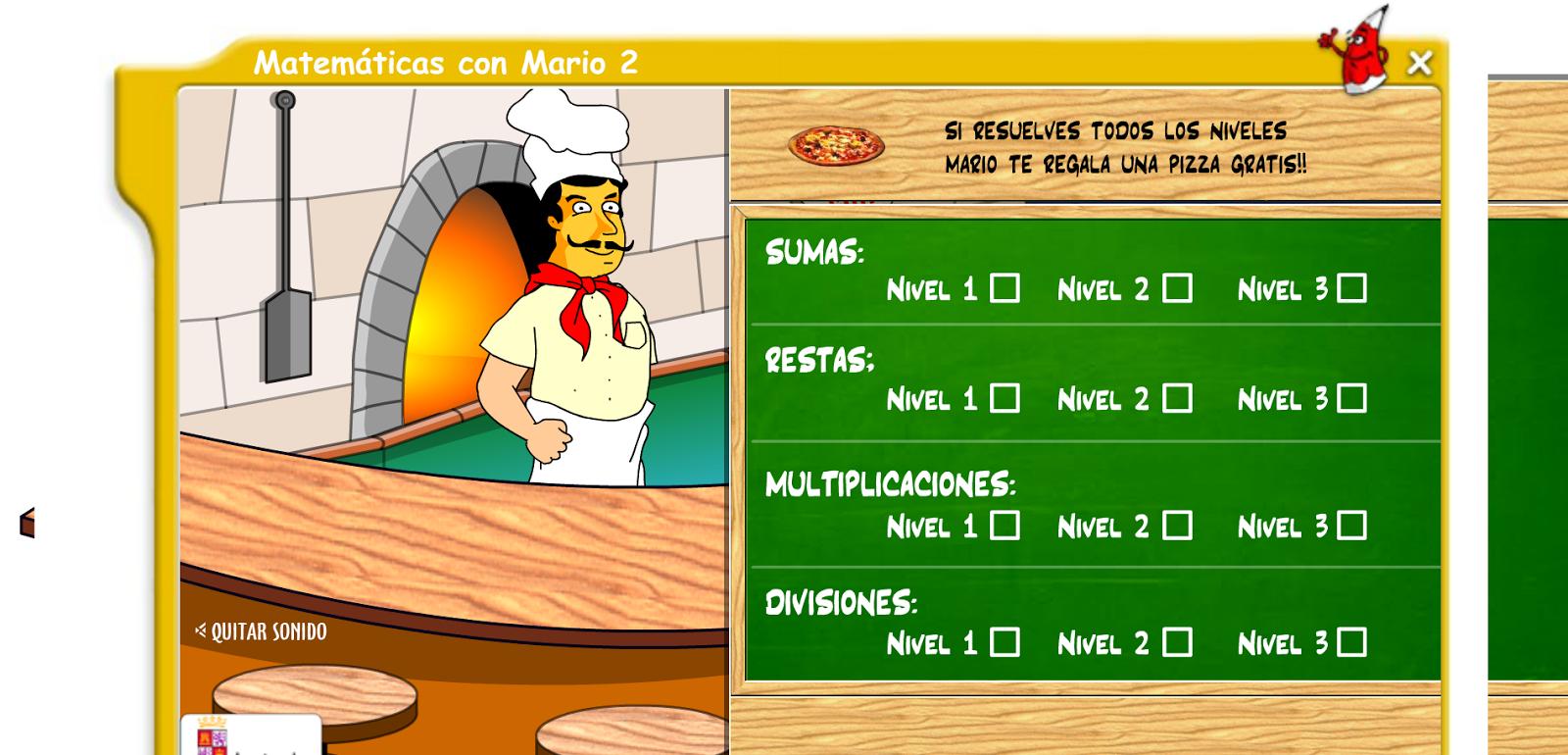 Matemáticas con Mario