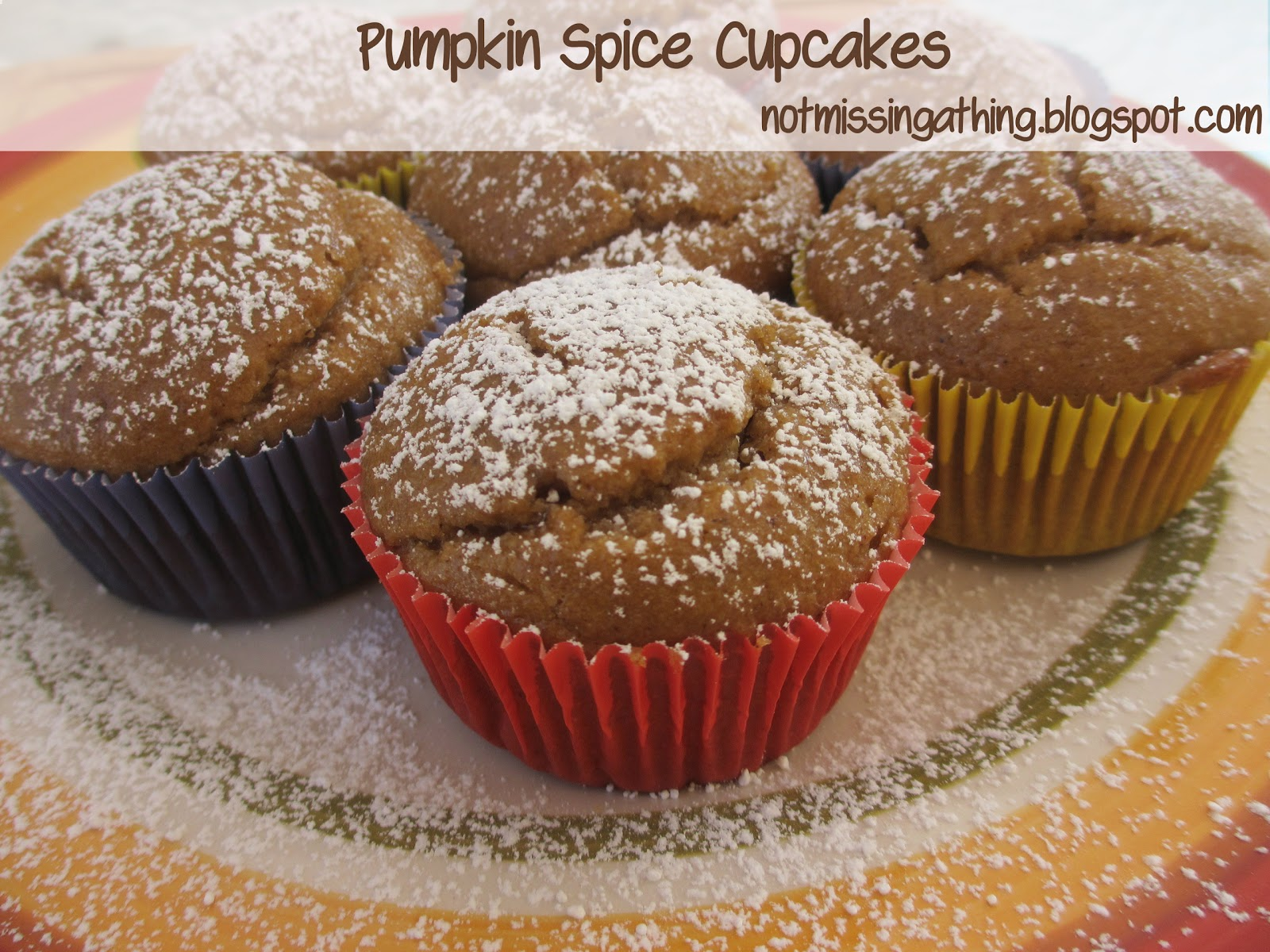 ... Friendly Cooking: Pumpkin Spice Cupcakes {gluten, dairy and egg-free