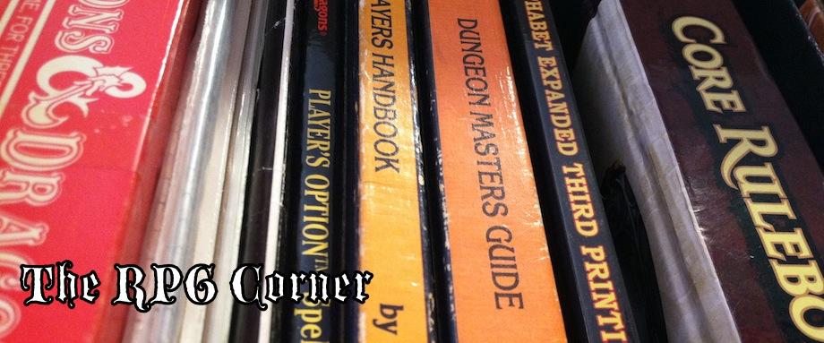 The RPG Corner