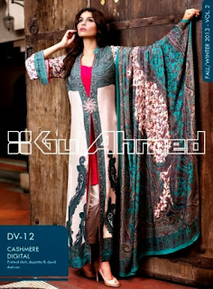 Gul Ahmed Cashmere Digital Dresses