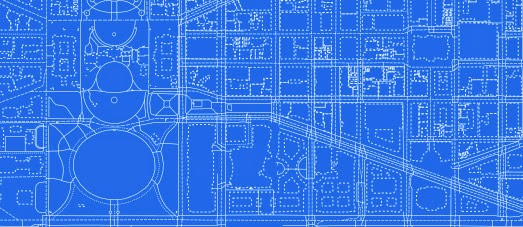Maps mania the blueprint to a better map blueprinted is an attractive map style designed to resemble cyanotype reproductions of technical drawings cyanotype is a photographic printing process malvernweather Gallery