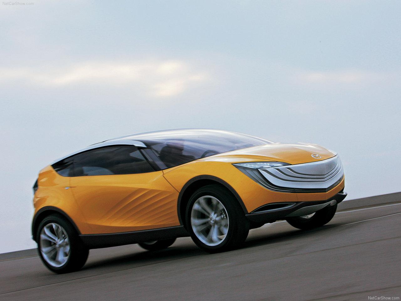 Mazda - Populaire francais d'automobiles: 2007 Mazda Hakaze Concept