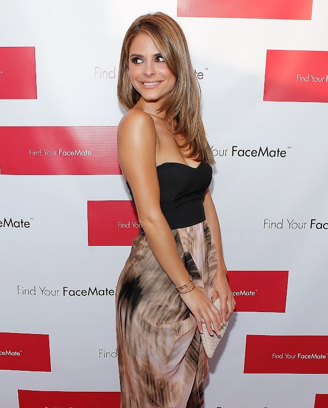 Maria Menounos attends Find Your Facemate Event in New York