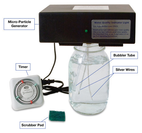 Learn how to make your own high-quality colloidal silver for less than 36 cents a quart at www.TheSilverEdge.com