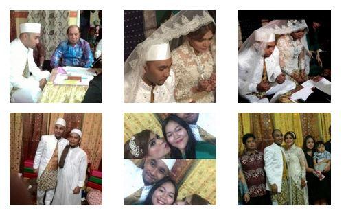 Foto Pernikahan Nisa dan Enji Henry Baskoro Hendarso Terbaru 2015