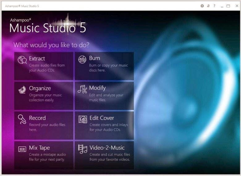 Kali ini putri software akan menawarkan link download salah satu aplikasi edit musik yakn Download Aplikasi Edit Musik/Lagu Ashampoo Music Studio 5 Full