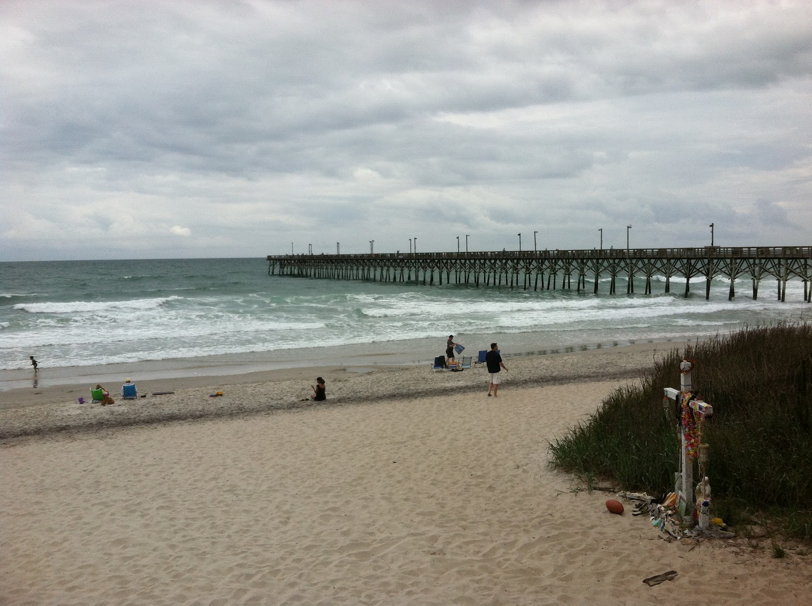Glory days on the great loop surf city nc for Surf city fishing pier