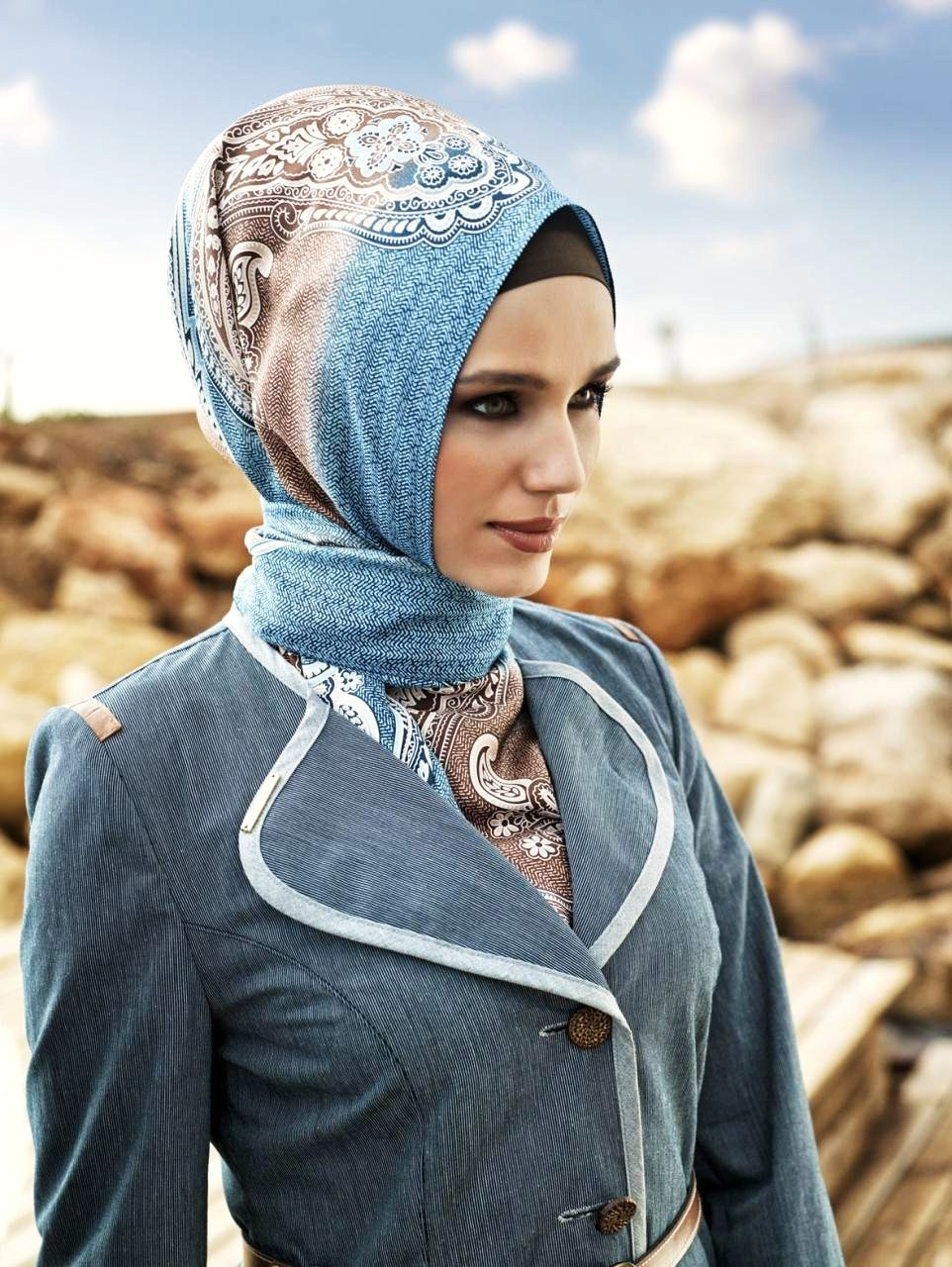 Muslim fashion 2012 styling fashion 2012 fashion trends 2012 turkish hijab style pictures Hijab fashion trends style turkish