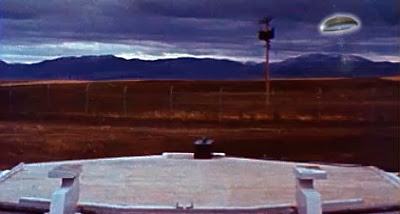 UFO Over FE Warren Missile Launch Site