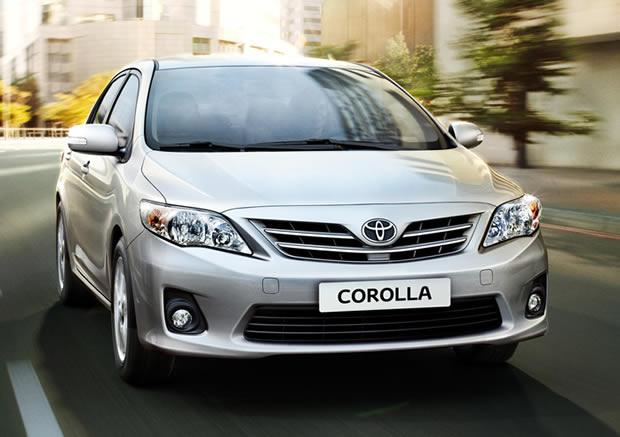 fotos Toyota Corolla papel de parede