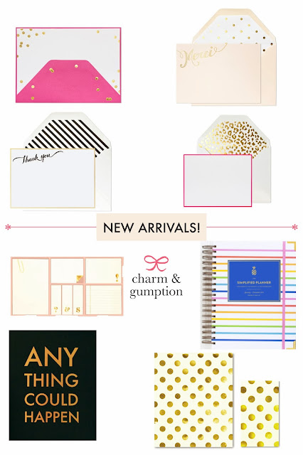 new arrivals at Charm & Gumption