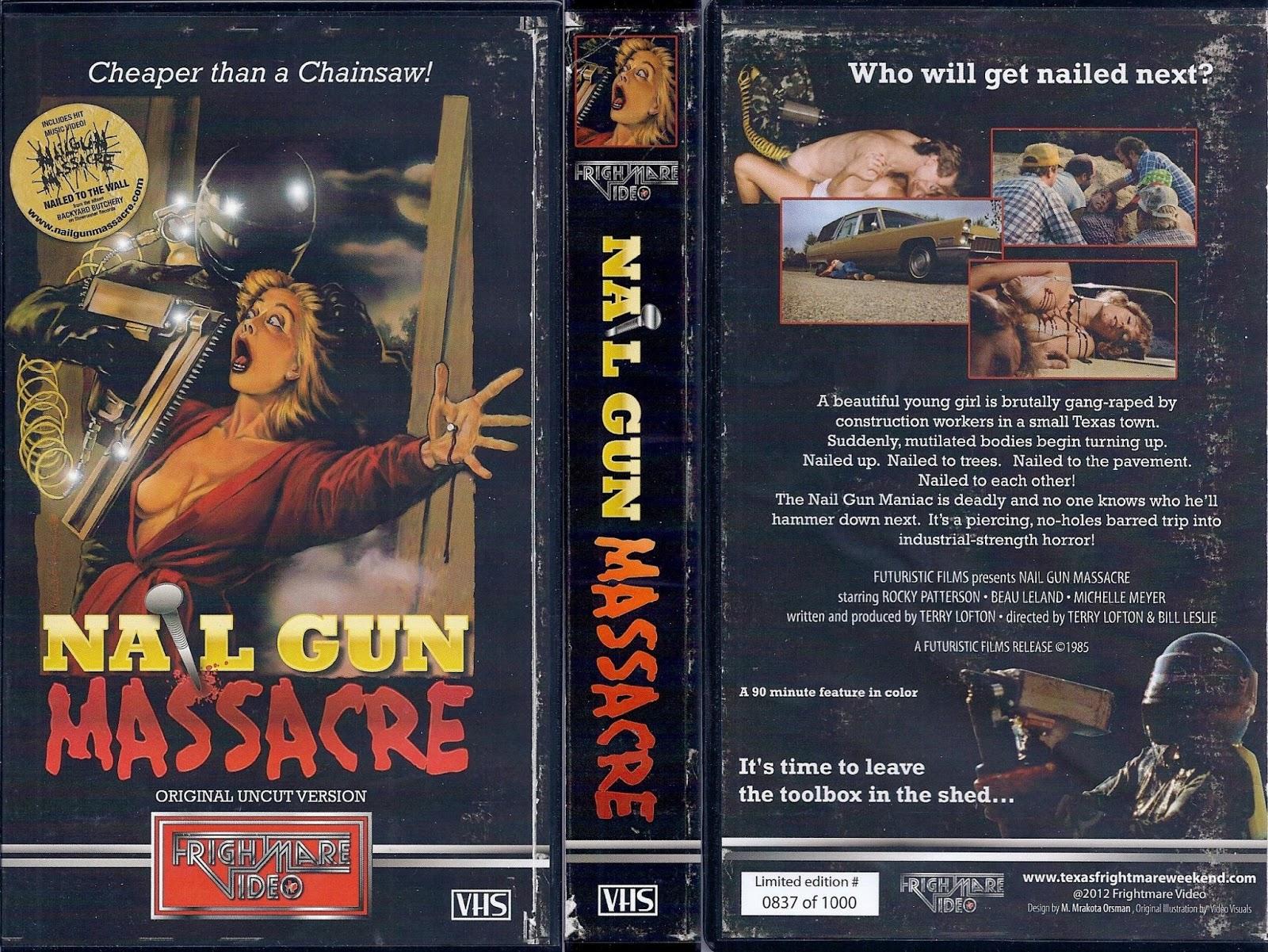 All-Star Video: Review: THE NAIL GUN MASSACRE