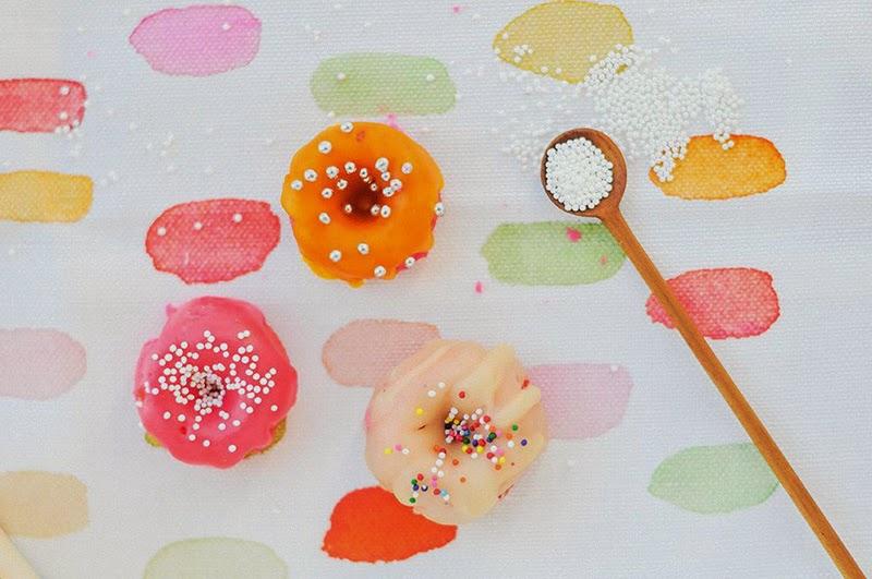 ideas para decorar donuts en casa