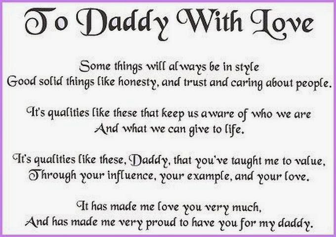 For all his care sacrifices and affection for you father s day poems