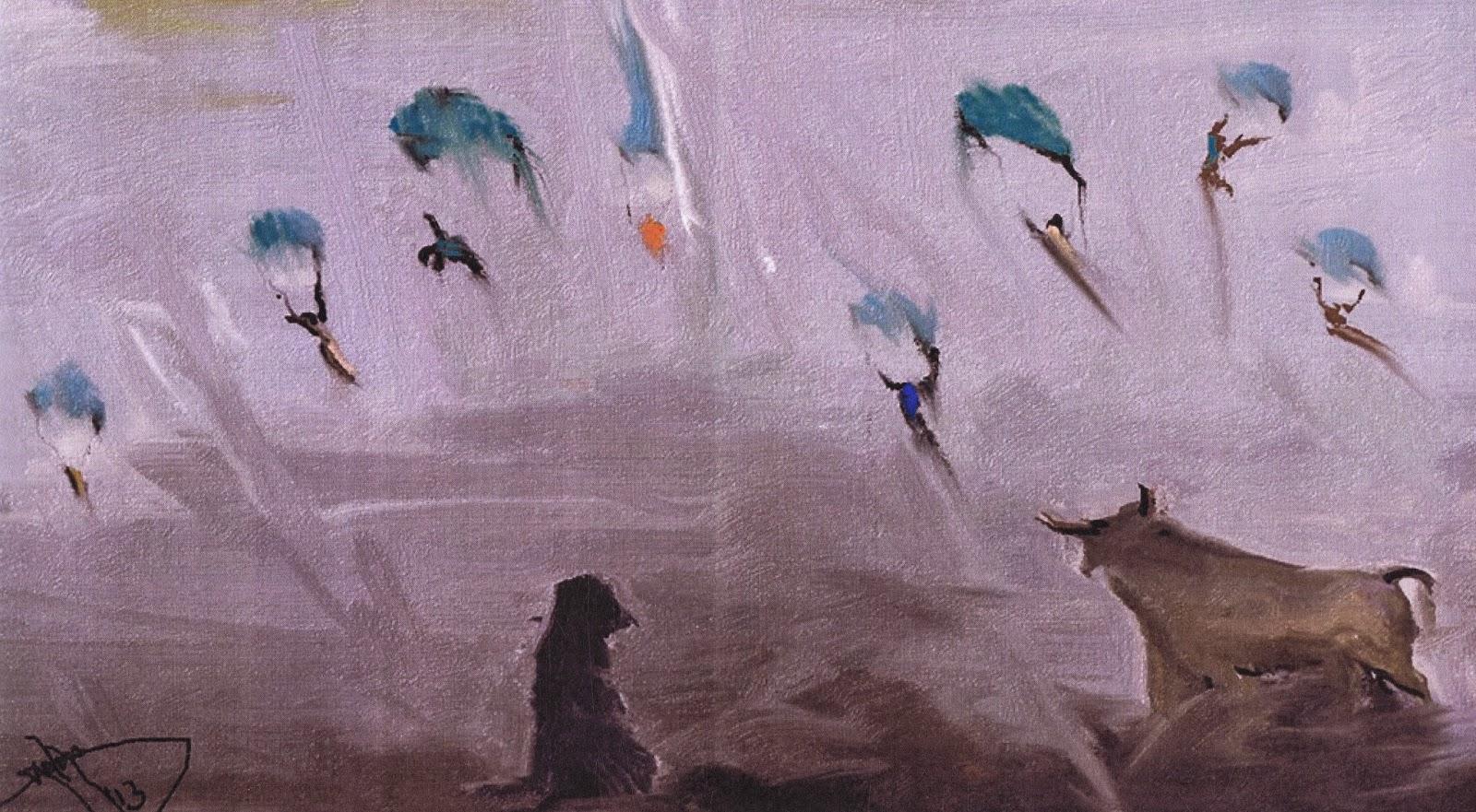 Resultado de imagen para pintura contemporanea libia