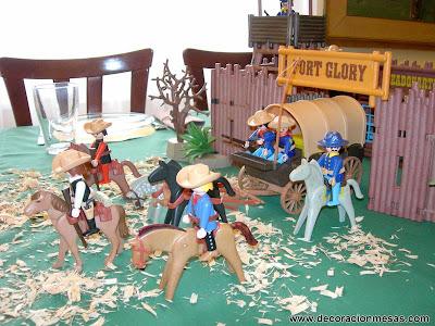 decoracion fiesta cumpleaños vaqueros
