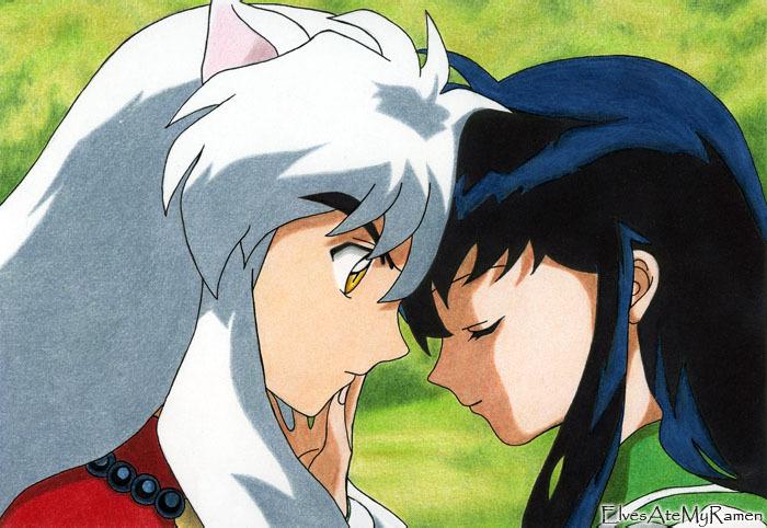 inuyasha and kagome funny