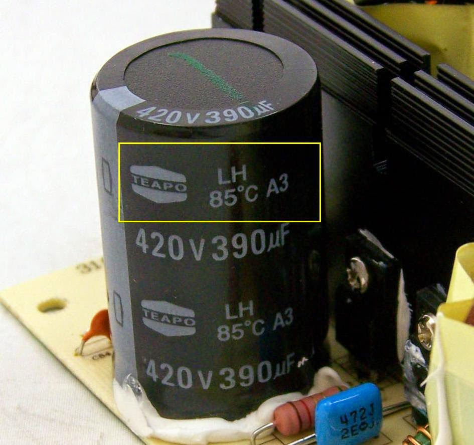 Komponen Kapasitor juga perlu ditingkatkan