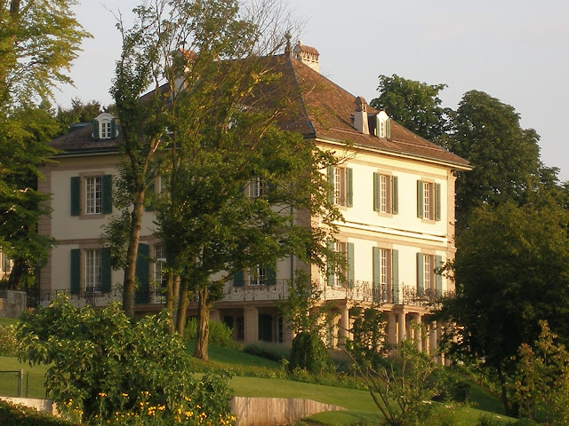 Villa Diodati near Lake Geneva