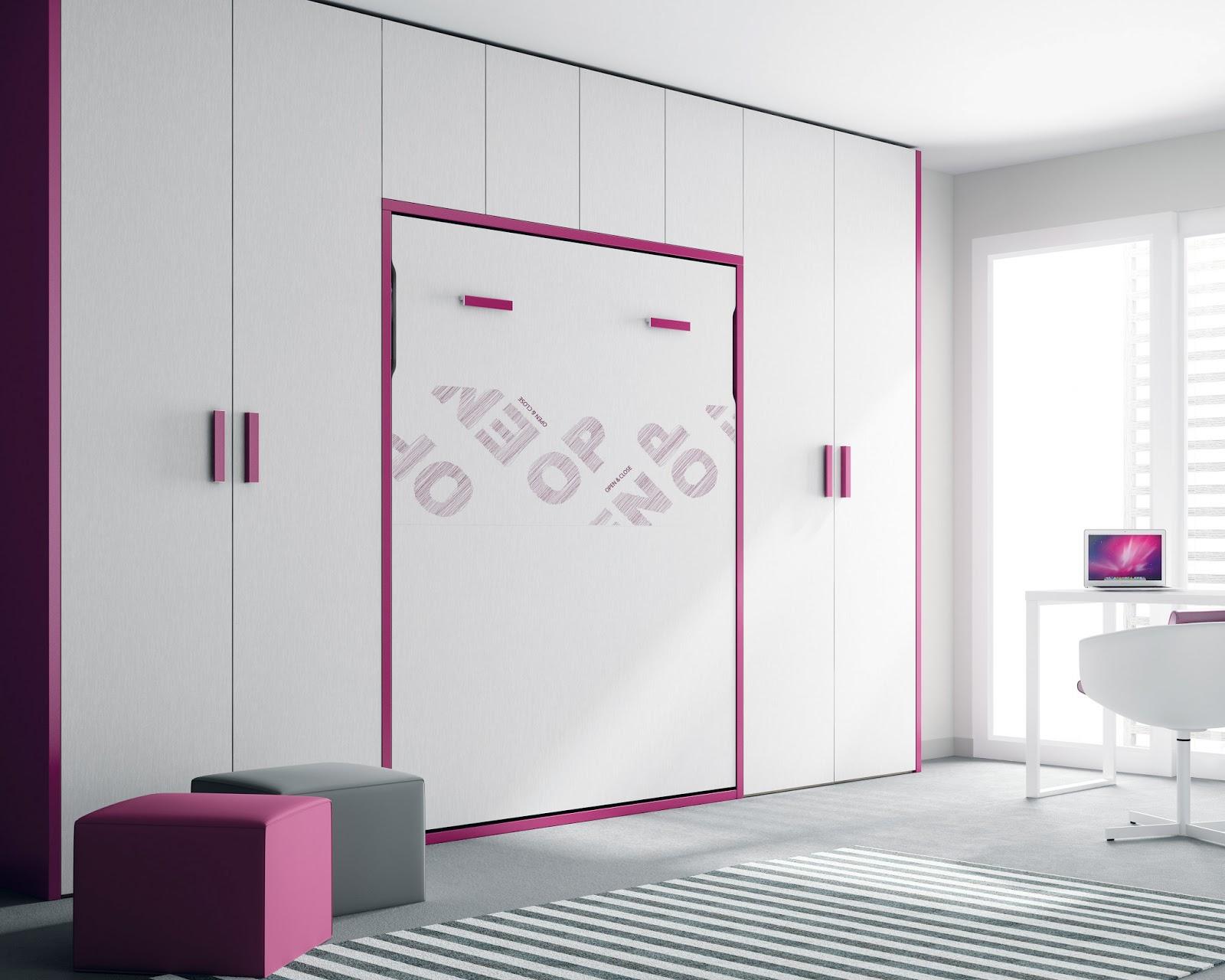 Camas abatibles armarios dormitorios - Armarios con cama ...