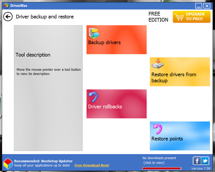 how to backup win 7 drivers