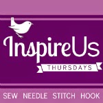 Inspired Us Thursdays: Sew Needle Stitch Hook, a link party of fiber arts. | The Inspired Wren