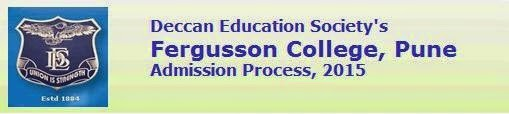 Fergusson College, Pune Admission 2015