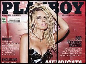 Mendigata Na Playboy De Outubro 2014