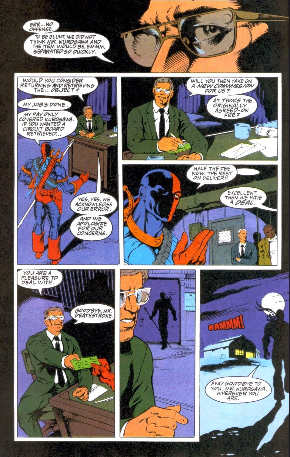 Deathstroke (1991) Annual 1 #1 - English 21
