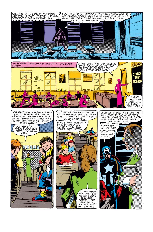 Captain America (1968) Issue #250 #165 - English 15
