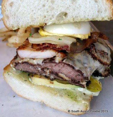 Liberty Kitchen Heisenburg-er hamburger