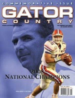 Gator Country Magazine Cover