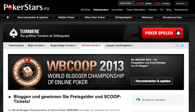 Freeroll für Blogger: PokerStars lädt auch 2013 zur World Blogger Championship of Online Poker.