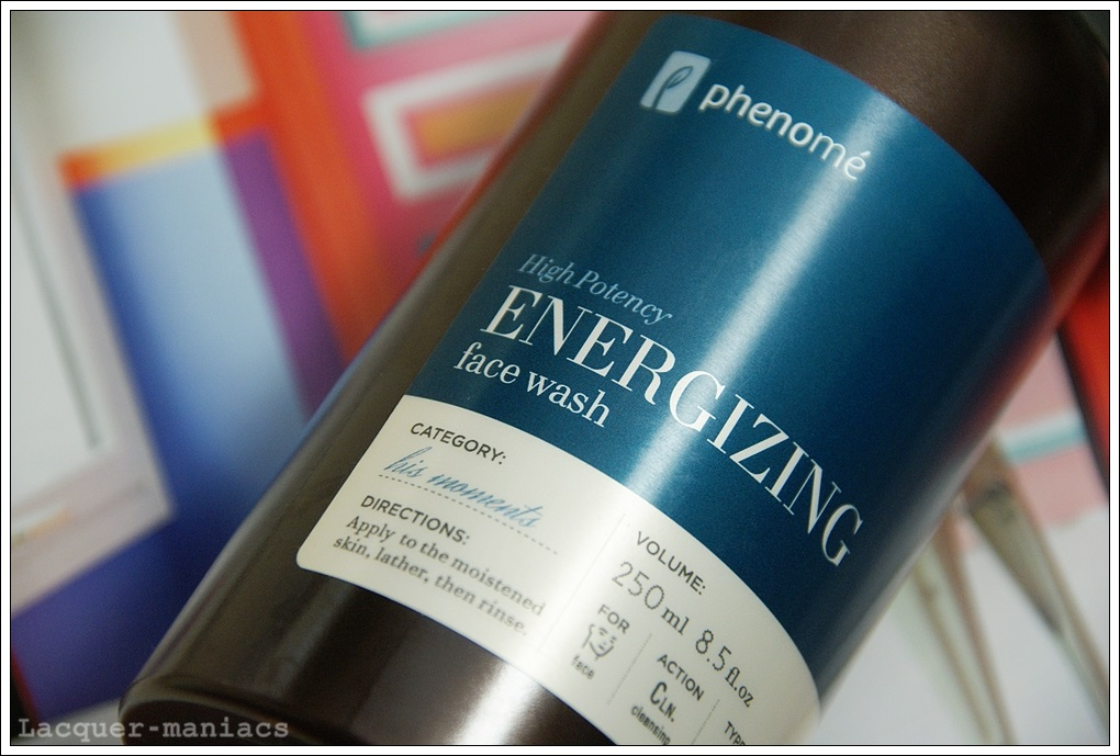 Phenome, Energizing Face Wash