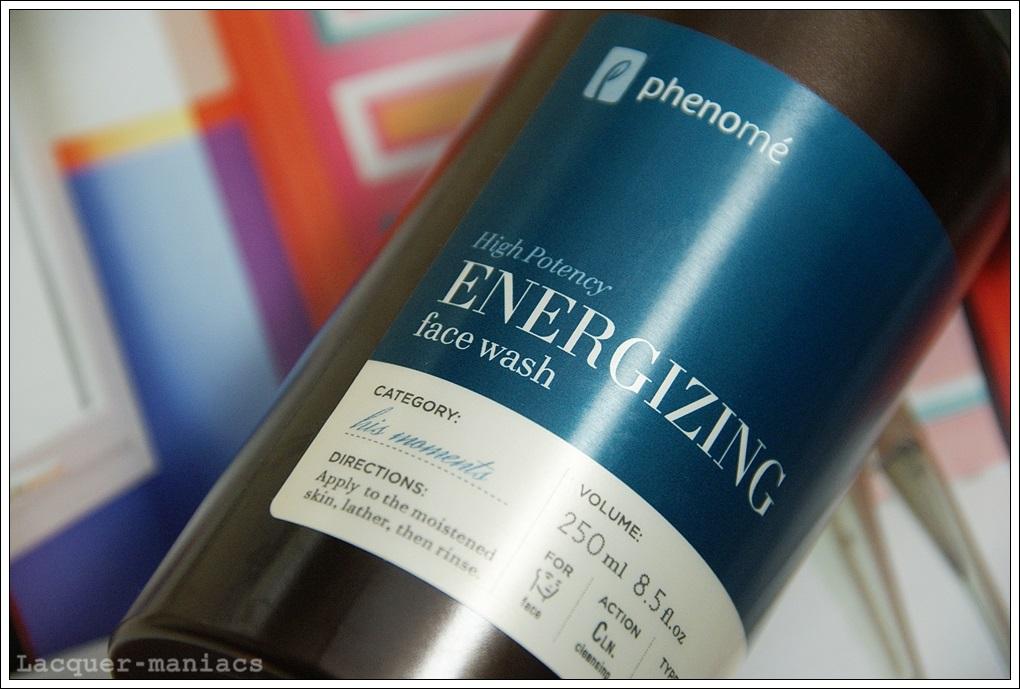 Phenome, Energizing Face Wash