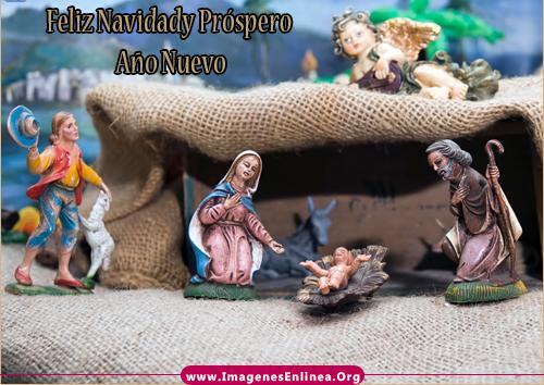 Feliz Navidad y Próspero Año Nuevo, Imagen de Nacimiento de Jesús