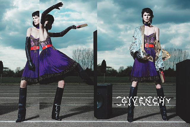 Givenchy Fall-Winter 2012-2013 Campaign feat Stella Tennant