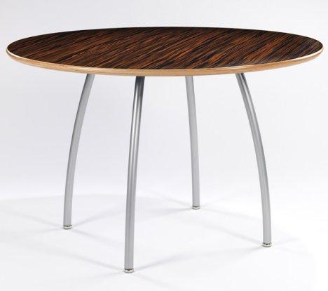 diy round dining table