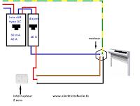 Schema electrique sch ma de branchement volet roulant lectrique - Installer volet roulant electrique ...