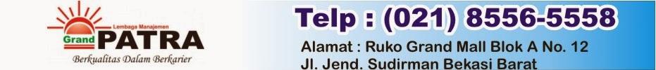 Kursus di GRAND PATRA Bekasi (021) 8556 5558