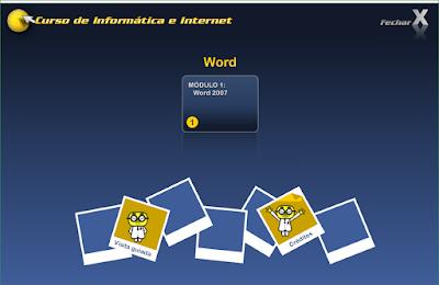 CURSO DE INFORMÁTICA E INTERNET - WORD 2007