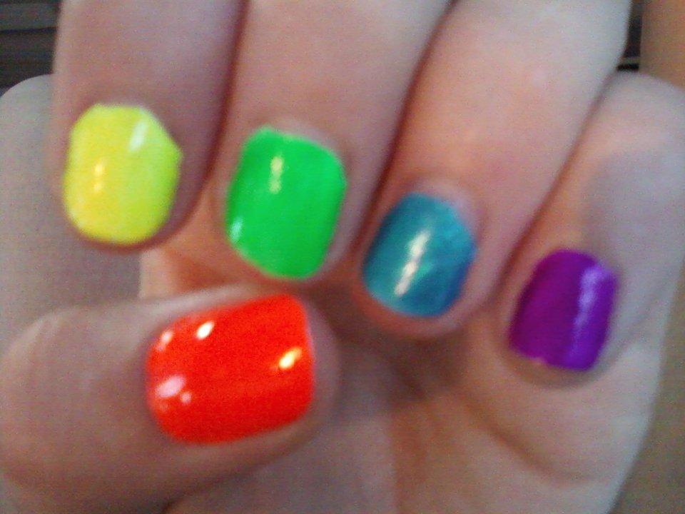 Abby\'s Nail Designs: Neon Nails