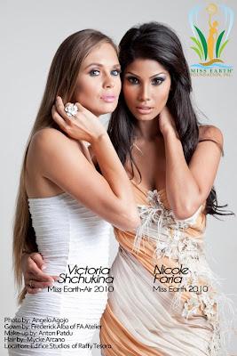 Victoria Shchukina and Nicole Faria