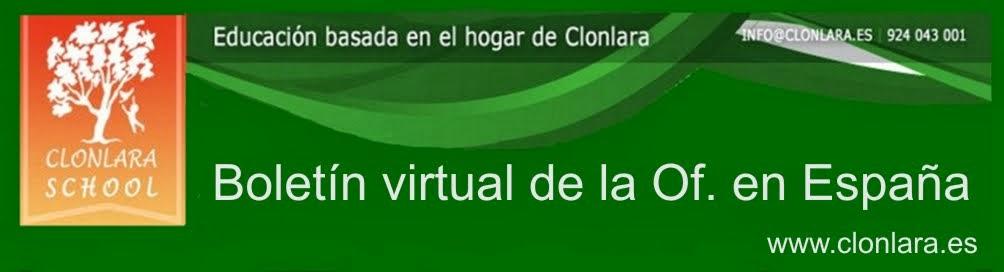 Boletín virtual Clonlara Of. en España
