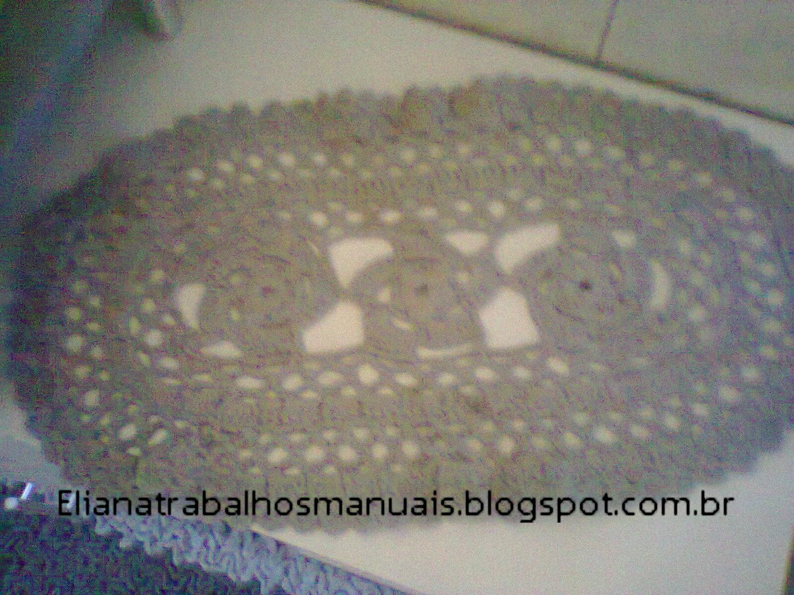 Eliana Trabalhos Manuais: Jogo de croche para banheiro Cinza #3C445C 1600x1200 Banheiro Com Vaso Cinza