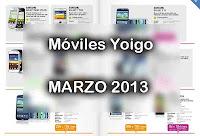 moviles yoigo marzo 2013 prepago tarjeta contrato