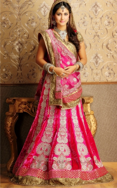 Hina-khan-lehenga-photos